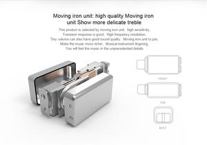 Uiisii T7 Hi res Multi Balance Armature Double Speaker Hybrid Earphones Headphones for Mobile