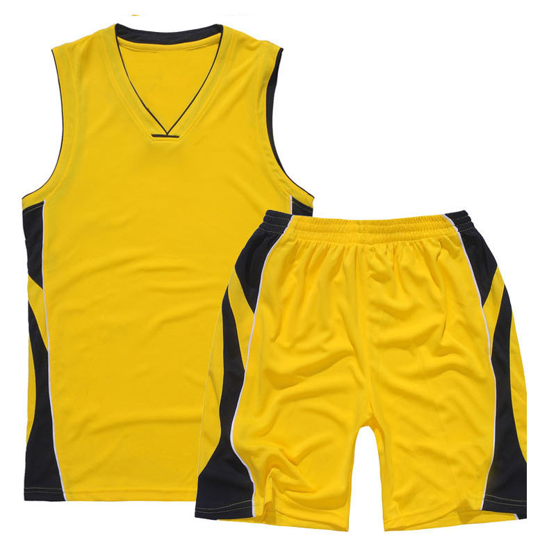 Yellow Design Neue benutzerdefinierte Basketball-Uniformen / Basketball-Trikot mit Sublimation