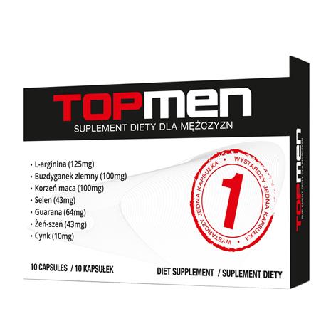 TOPMEN 10 herbal potency supplement,capsules for potency man, Supplement for man energy enhancer the male potency vitality man