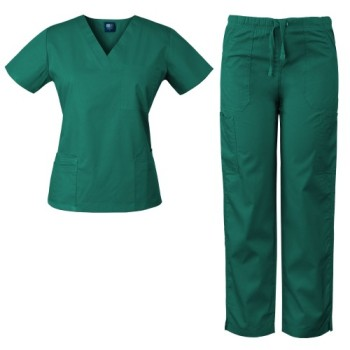 Custom Hospital Uniforms Female Nurse Medical Scrubs Uniforms Sets