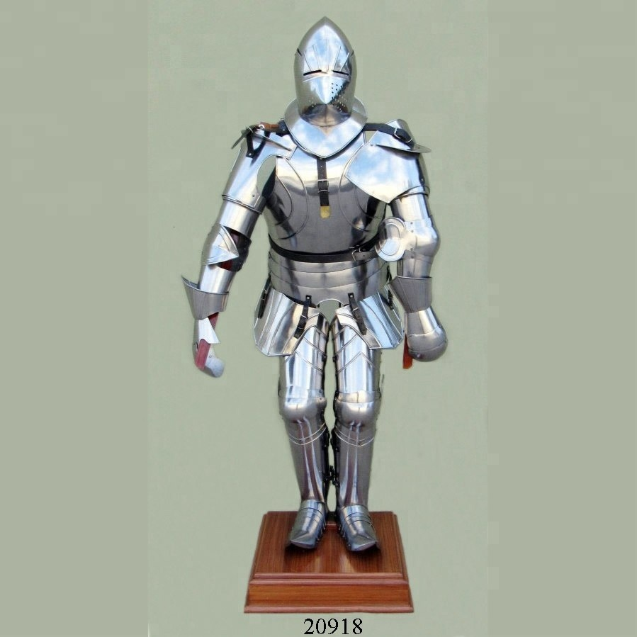 Medieval Full Suit Of Armor / Spanish Knight Armour Suit / Ancient Full  Body Armor Suit , Buy Full Body Armour Suit,Full Suit Of Armour,Medieval  Suit