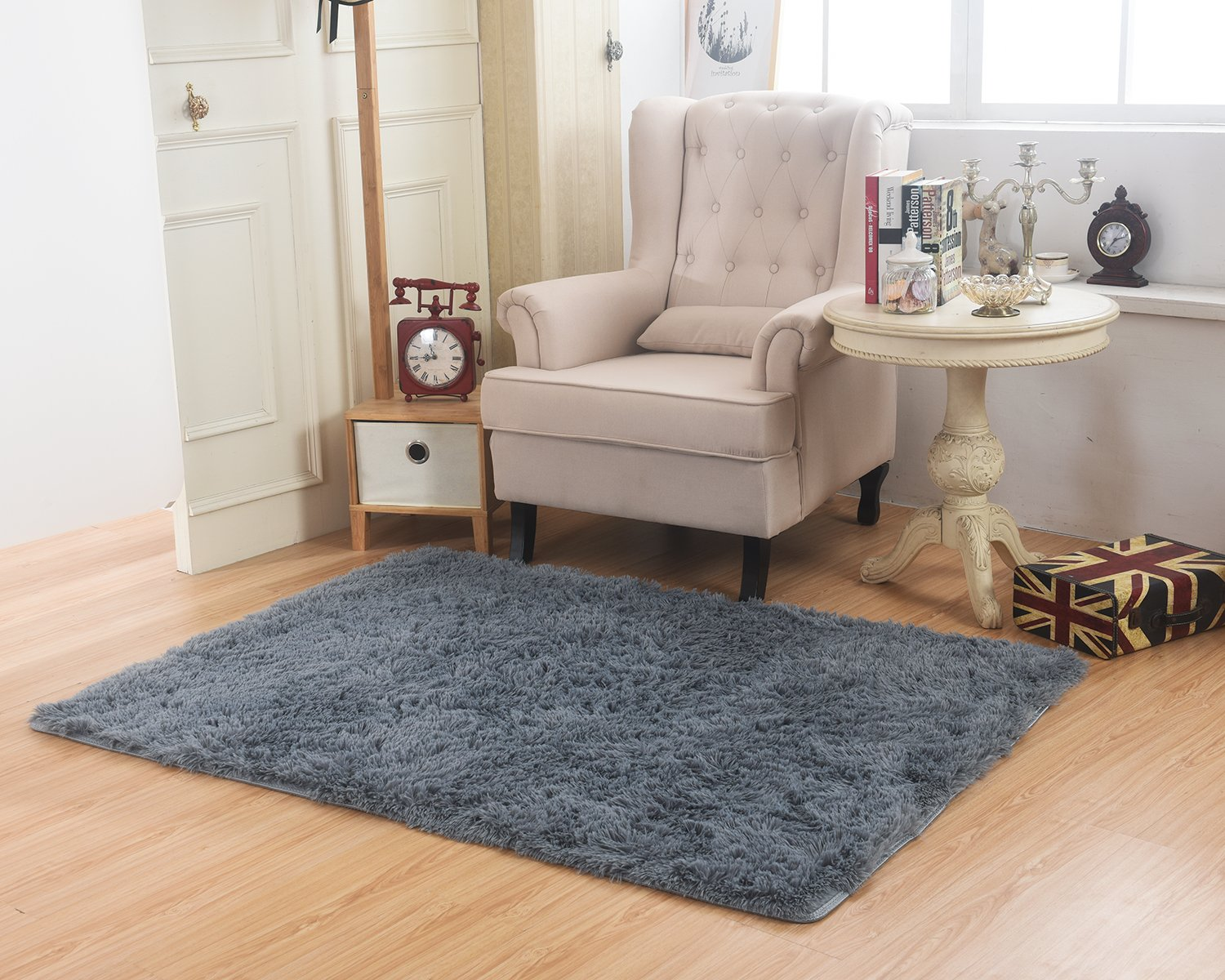 Buy MBIGM Living Room Bedroom Rugs, Ultra Soft Modern Area Rugs ...