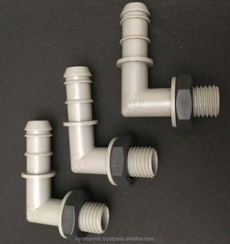 Removable Fitting 16mm for hydroponic grow systems AGRONOMOF