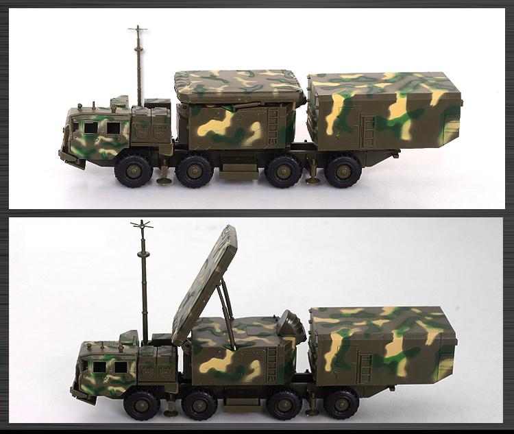 S300 Missile Model Vehicle Plastic Assemble Kit 1:72 Military Model