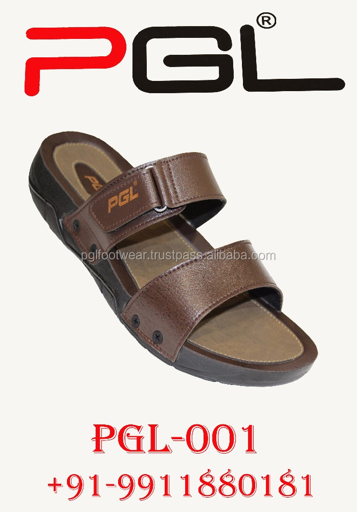 Men Arabic Style PU Slipper