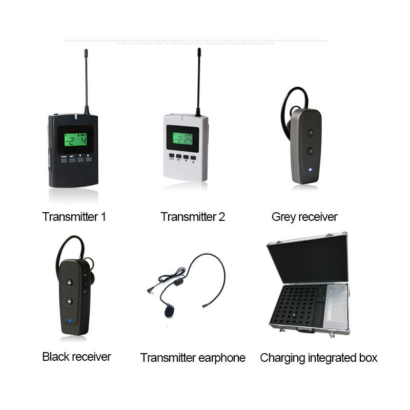 Wireless Tour Audio Guide System for Guiding Meeting