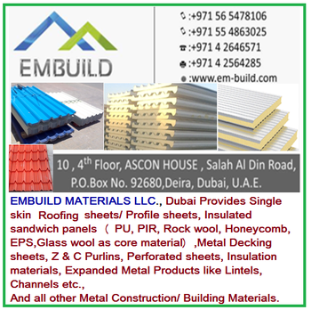 Insulated Sandwich Panels For Cold Rooms / Freezer Rooms/ Roofing/ Walls +  971 56 5478106 - Buy Sandwich Panels Roofing Sheets And Other Metal