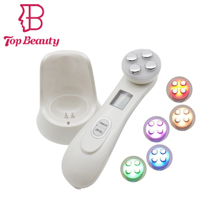 Amazon Best sell 5in1 RF&EMS LED Photon Face Skin Rejuvenation Device