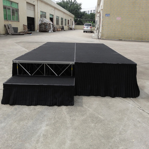 Cheap Aluminum mobile portable stage concert event staging for sale
