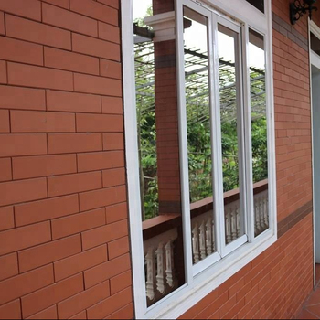 clay wall tiles for South Africa customer terracotta wall tile cladding curtain