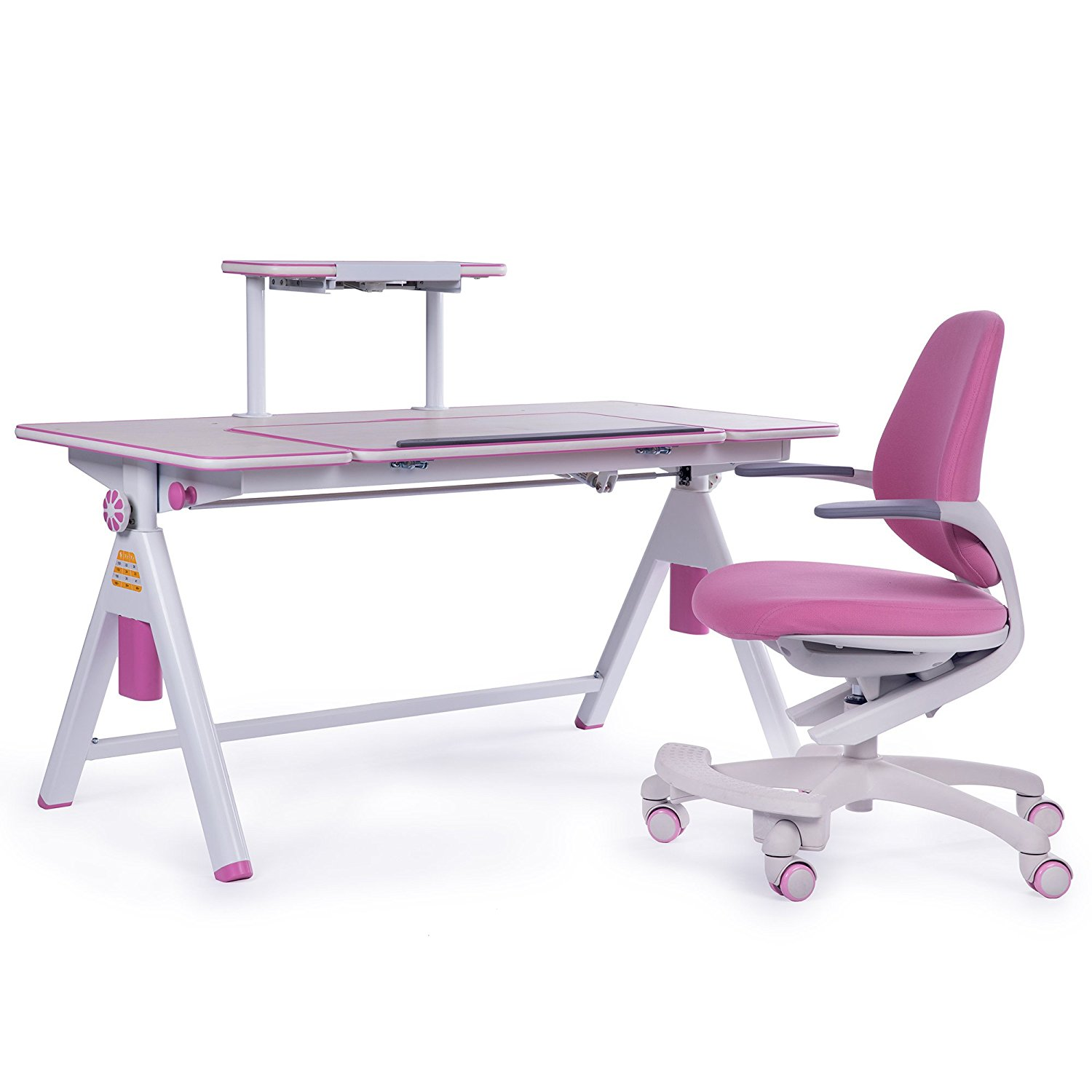 Groovy Buy Sunon Furniture Height Adjustable Children Desk And Ibusinesslaw Wood Chair Design Ideas Ibusinesslaworg