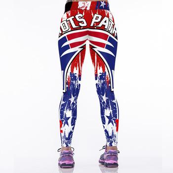 c0a3490b New Women Sporting Legging American Footballs Nfl Patriots Team 3d Printed  Skinny Workout Leggings New England - Buy Leggings For Women,Yoga ...