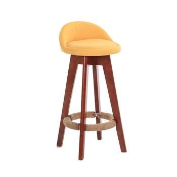 silla taburete bar de madera