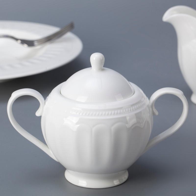 product-Two Eight-Western style five star hotel use bone china crockery tableware dinnerware set-img
