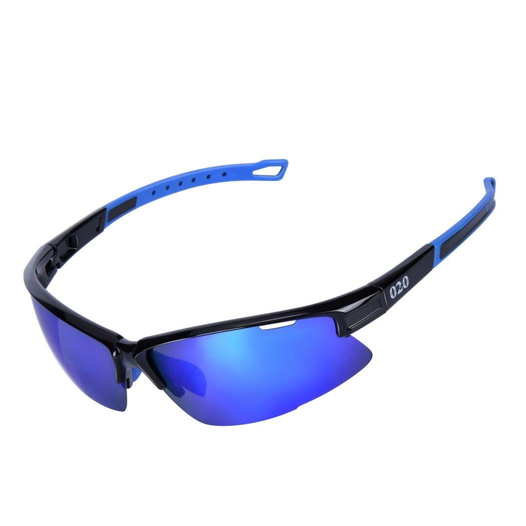5e0774de650 Get Quotations · O2O Polarized Sports Sunglasses Tr90 Frame One of the  Lightest Sports Sunglasses Only 0.044 Lb comfortable