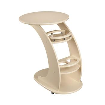 Ivory Trolley Table Luxe