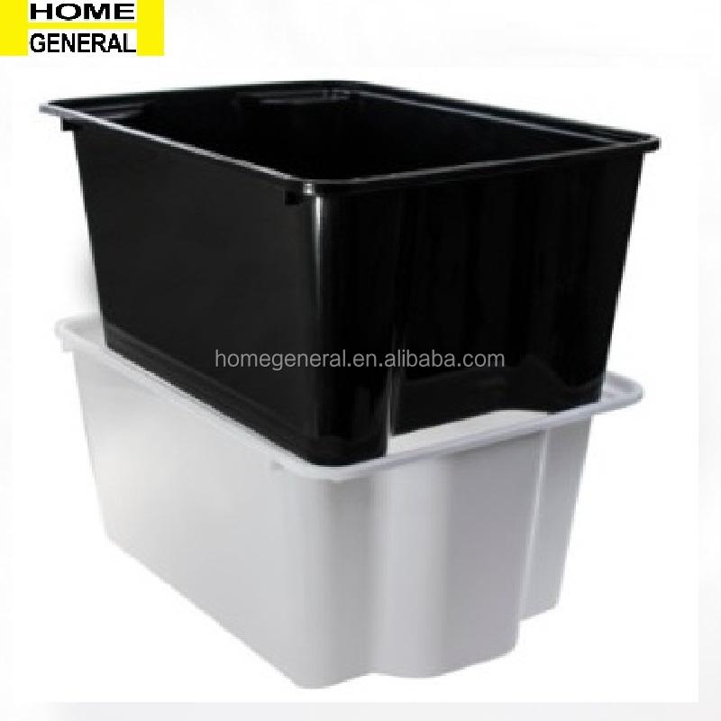 PLASTIC STACKABLE BUCKET STORAGE BUCKET PLASTIC BUCKET PLASTIC ORGANIZER BOX KITCHEN BUCKET STACKABLE BIN STACKABLE TUB