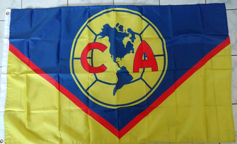 116c442faf2 Club America Flag Banner 3x5 ft Aguilas Regular Soccer Mexico Futbol Bandera