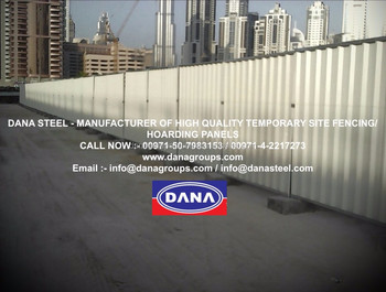 Construction Hoarding Fence Manufacturers In Uae - Buy Fencing  Uae,Corrugated Steel Fence,Prepainted Steel Fence Uae Supplier Product on  Alibaba com