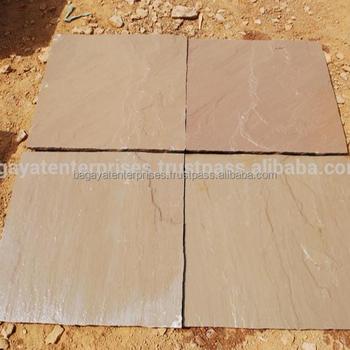 Autumn Brown Indian Sandstone Paving
