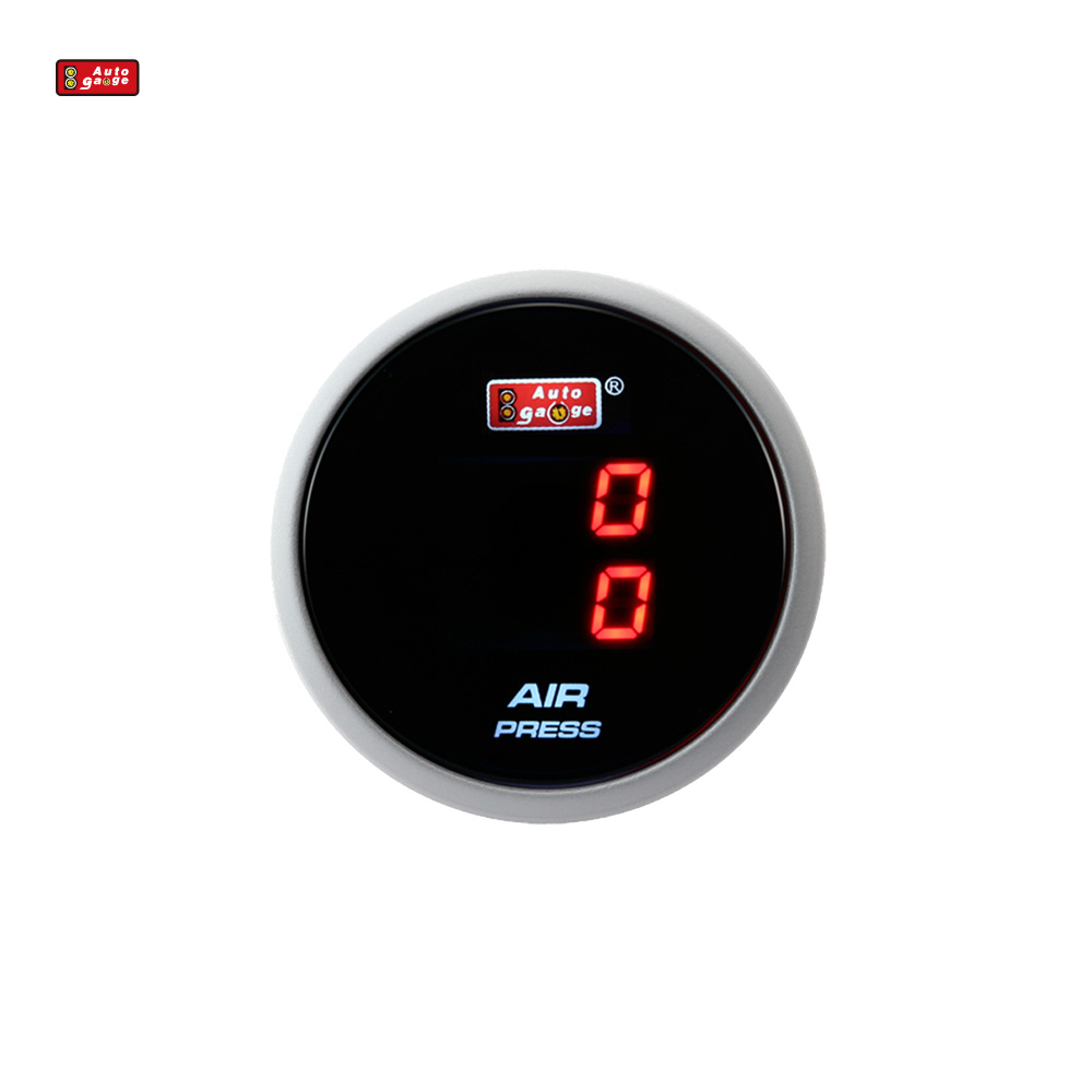 52mm performance gauge air pressure digital