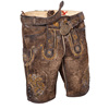 Genuine Antique Leather Trachten Bavarian Oktoberfest Lederhosen shorts for men