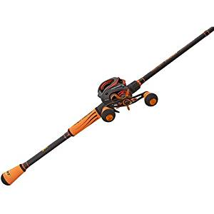 Lew's Mach Crush Speed Spool SLP Bait Cast Combo, 7 BB + 1 RB, 7.5:1, w/ 7' MH 1pc IM8 Rod, Winn Grips