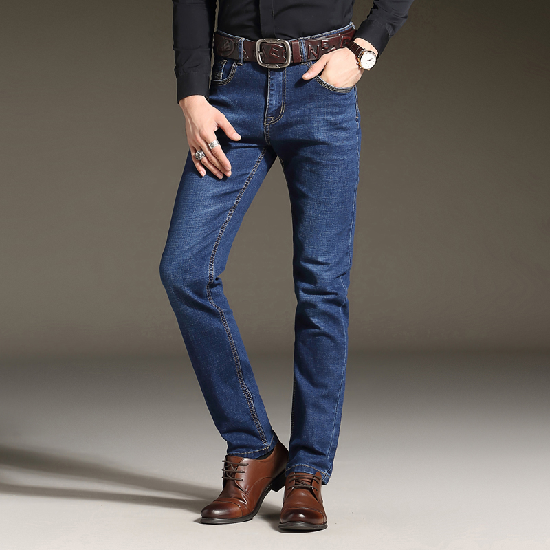 2018 High Quality Mens Cotton Four Seasons Denim New European Designer Jeans Pants