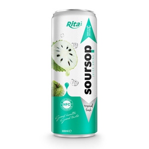 500ml NFC Soursop Juice Drink Rita Beverage Manufacturer private label beverage