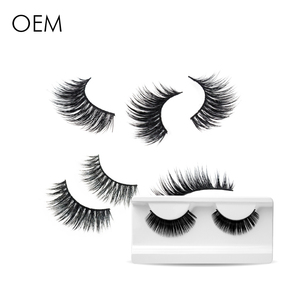 Korean Individual High Quality Handmade Graft 3D Silk Mink Lashes False Eyelashes
