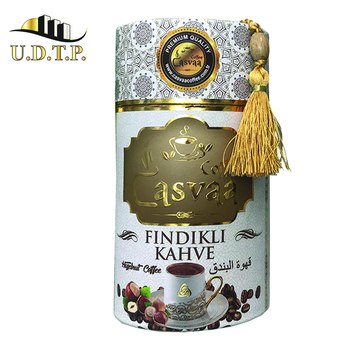 250 gr Powder Instant Coffee with nuts flavor 3.25 usd halal FREE SPOON