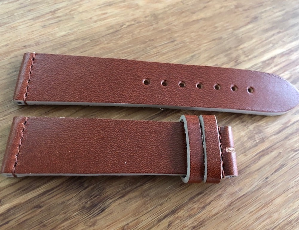 Cổ điển Leather watch strap