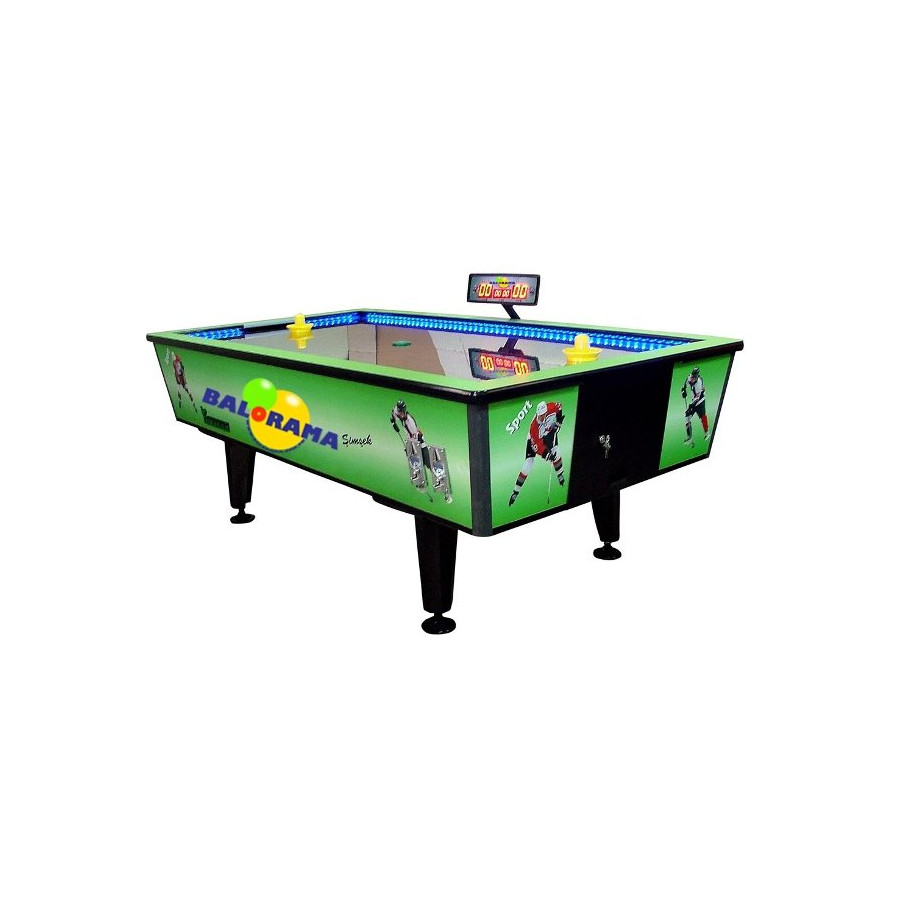 Verde air hockey, aria hocker per la vendita, cheap air hockey