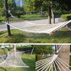 Morocco Hanging Cotton Rope Macrame Hammock Chairs Swing Bed Home Garden Decor
