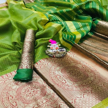 Indian Pakistani Party Designer Wedding Wonderful Women Wear Kota Silk Saree In Surat