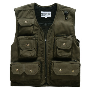 work vest travel fishing factory made china oem