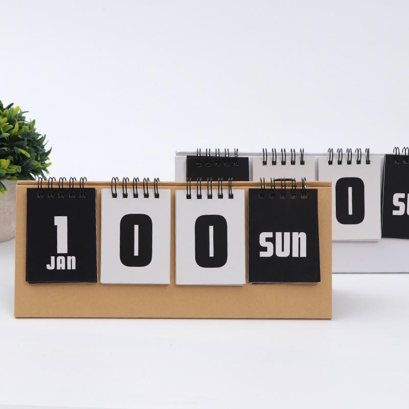 creative custom perpetua daily desk calendar