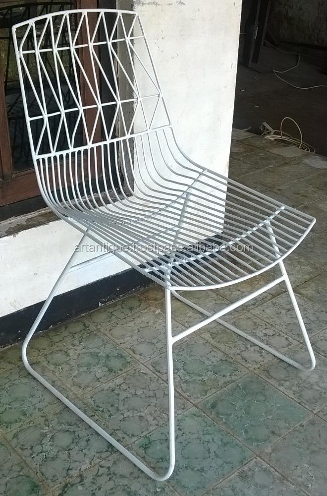 Metal Nets Modern Vintage Industrial Dining Chairs Buy Vintage