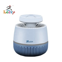 LOSKY led smart usb rechargeable mosquito killer home pregnancy baby electronic mosquito trap
