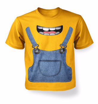 New Fashion Children Sublimation T Shirt Design Your Own Colorful Cute Baby Cartoon V Neck S