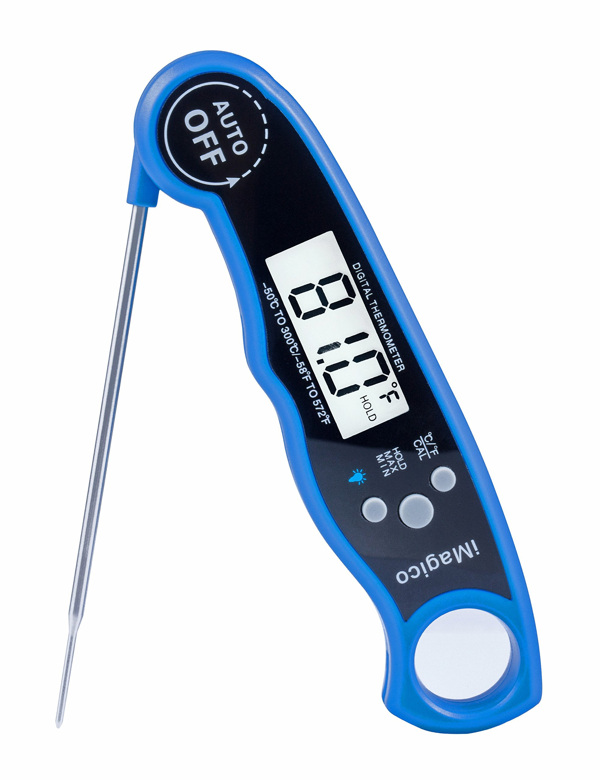 Instant Read Thermometer - Waterproof Digital Meat