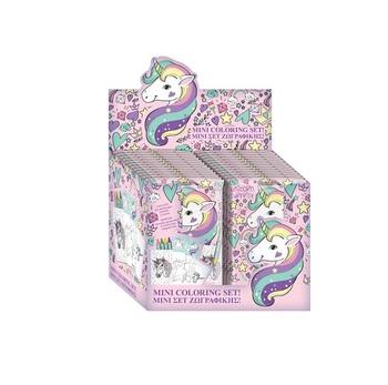 Sicak Fiyat Unicorn Mini Boyama Seti Cocuk Oyuncak Seti Hediye
