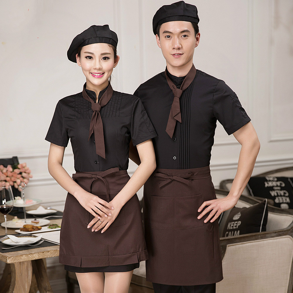 Restaurant uniform for waiter and waitress buy