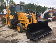 Durable Secondhand Machine original JCB 3CX Backhoe Loader from UK in yard for sale