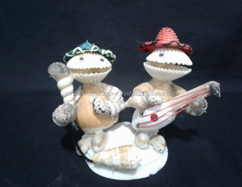 Seashells Philippine Handicrafts Singing Twins With Guitar Buy Twin Gutarist Seashells Crafts Toys Made Of Seashells Philippine Made Handicrats