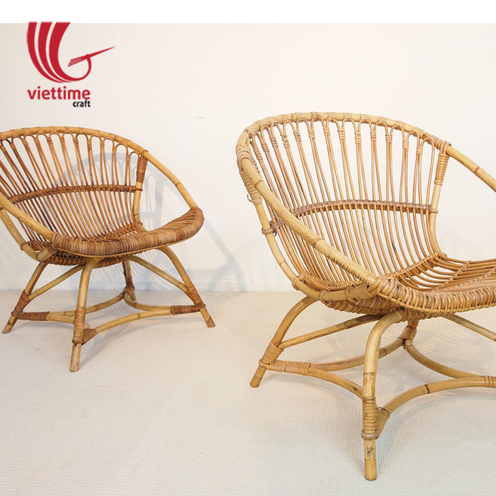 Outdoor garden wicker rattan chair made in vietnam