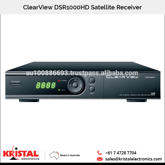 5,000 Kanaals DSR1000HD Digitale Satellietontvanger