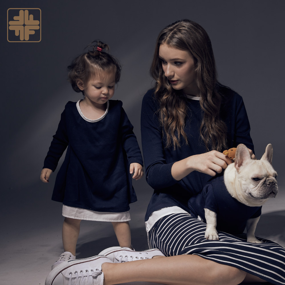 Owner And Pets Family Outfit Back Split Shirts
