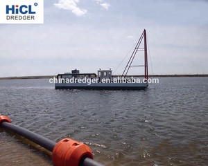 China HICL HJS100 540m3/h 6inch widely used river sand jet suction dredger/pump dredger/dredging machine