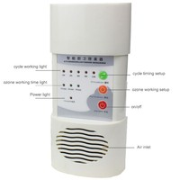 HF115 Hot Selling Portable Electric Air Ozone Generator Living Air Purifiers Ozone Disinfection Machine
